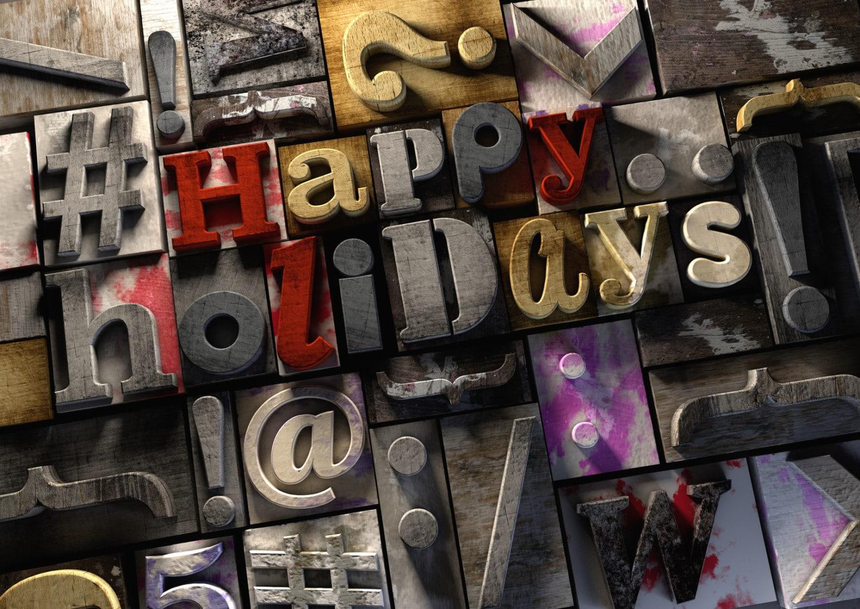 Holiday Hashtags