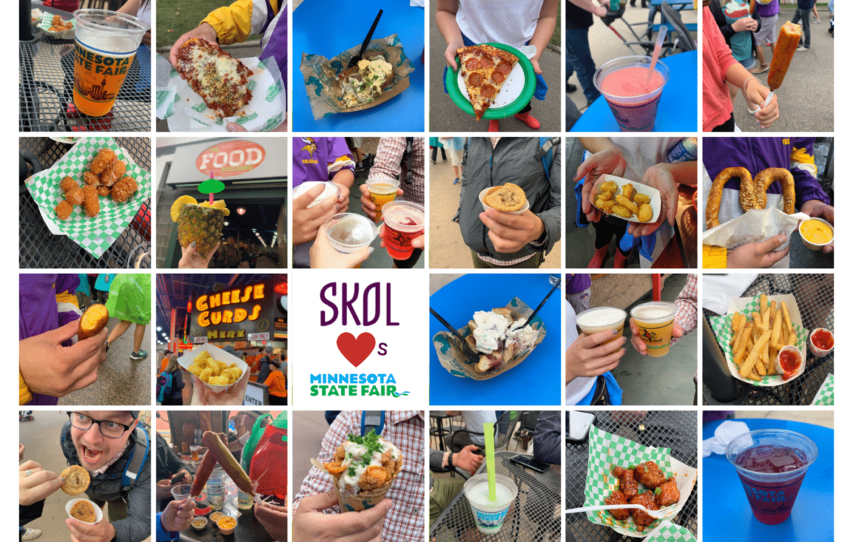 Skol Marketing Minnesota State Fair favorite foods
